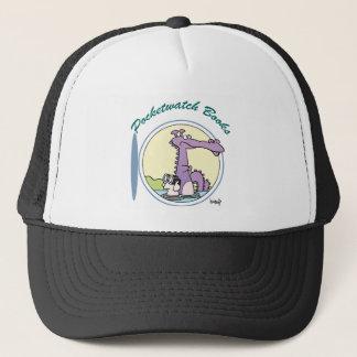 Pocketwatch books logo trucker hat