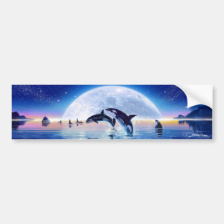 Pod of Orcas Bumper Sticker