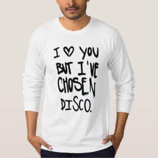 podALMIGHTY.net chosen disco t-shirt