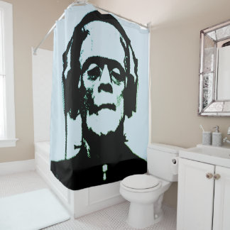 podALMIGHTY.net FRANKENSTIEN SHOWER CURTAIN