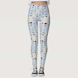 PODALMIGHTY.ROCKS MAYAN ZODIAC LEGGINGS