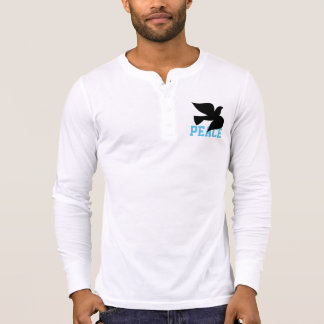 PODALMIGHTY.ROCKS PEACE HENLEY T-Shirt