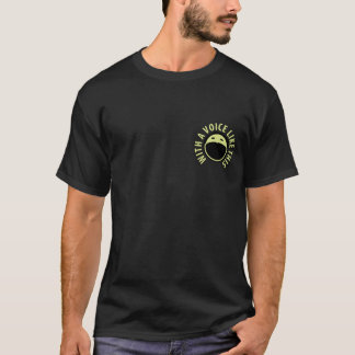 Podcast Gallery T-shirt (Black)