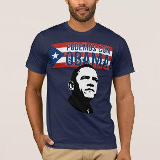 Podemos con OBAMA Fl.Ob T-Shirt
