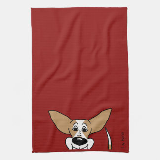 Podenco Smile Kitchen Towel