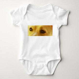 Podengo_podengo eyes baby bodysuit