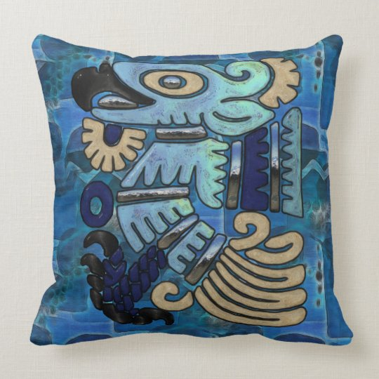 Poder Del Aguila Throw Pillow