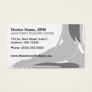 Podiatrist / Appointment Card