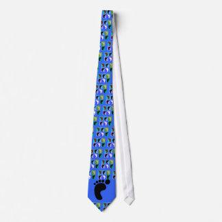 Podiatrist Gifts Popart Design of Feet Tie