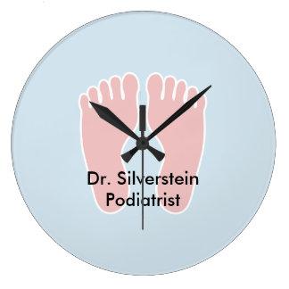 Podiatrist Office Foot Themed Clocks