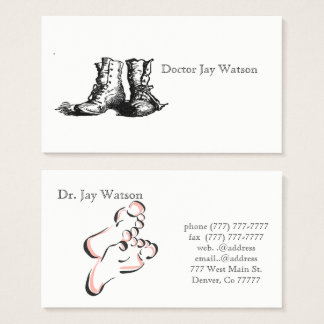 Podiatrist Orthopedist Surgeon Destiny Destiny'S Business Card