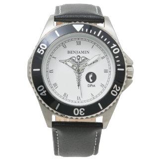 Podiatrist Personalized Name Watch