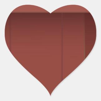 Podium Heart Sticker