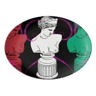 podpilots.com LONG ROAD TO KAIROS PLATTER Porcelain Serving Platter