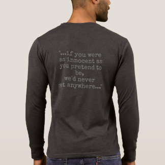 podpilots.com THE MALTESE FALCON quoted T-Shirt