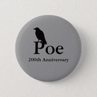 Poe 200th Anniversary Button
