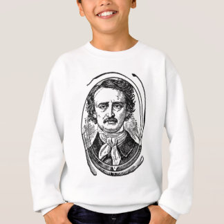 Poe 2~~~Edgar Allen Poe~~~~Altered Art Sweatshirt