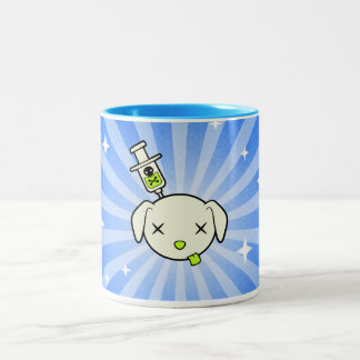 Poe Burst Coffee Mug - Blue