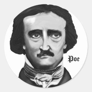 Poe Classic Round Sticker