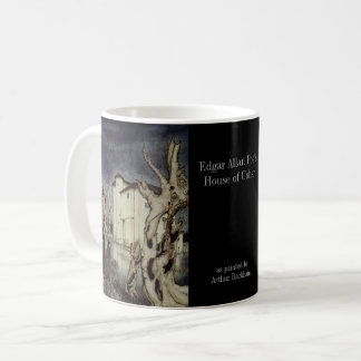 Poe - House of Usher by Rackham and photo Coffee Mug