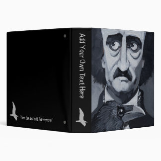 "Poe Raven 1.5"" Binder"