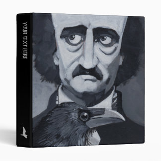 "Poe Raven 1"" Binder"