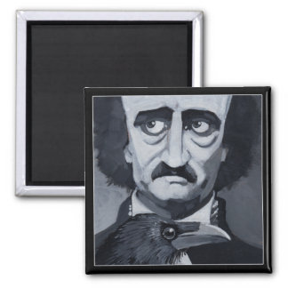 Poe Raven Magnet