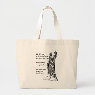 Poe: Red Death Large Tote Bag