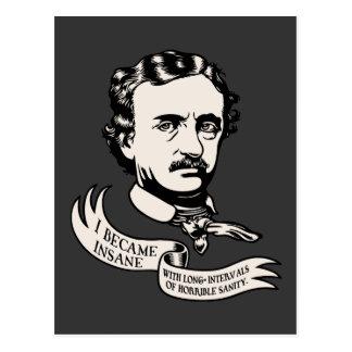 Poe - Sanity Postcard
