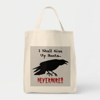 'Poe-tic' Reader Tote Bag