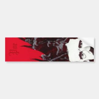 Poe vertical sticker - limited bumper sticker