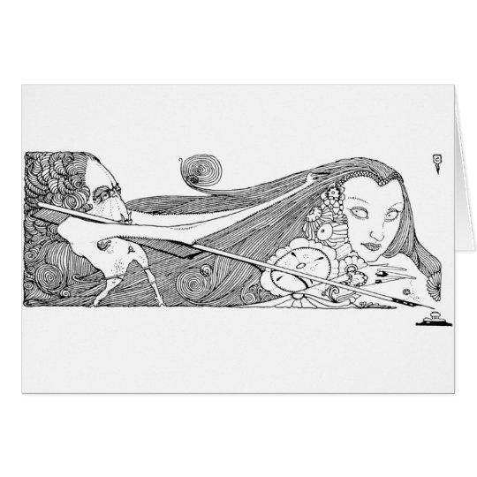 Poe Vignette 13 Card