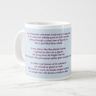 "poem ""Sepparated"" by Elizaveta Limanova Large Coffee Mug"