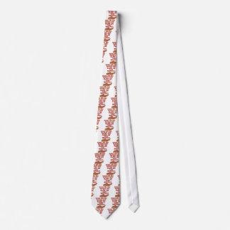 Poème de lard cravates customisées