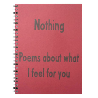 poems notebooks