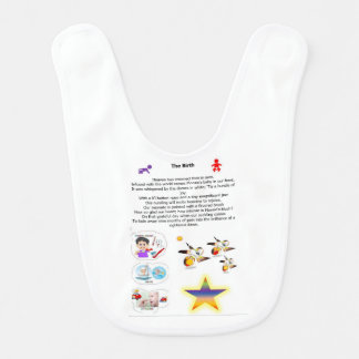 Poems themed for babies bib