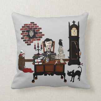 'Poe's Madness' Pillow