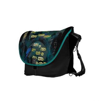 Poe's Raven Courier Bag