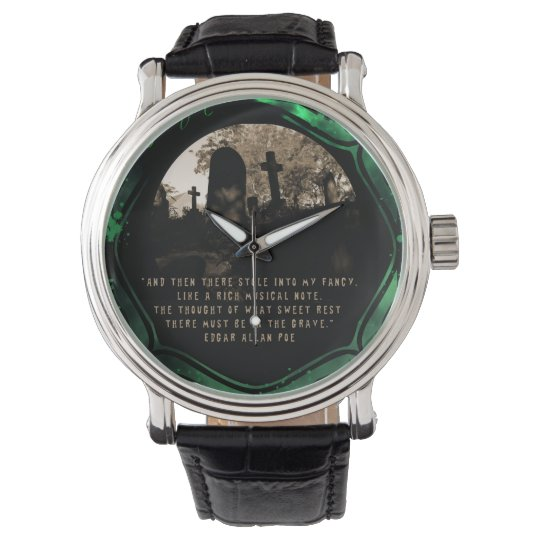 """Poe's """"The Grave"""" Wristwatch"""