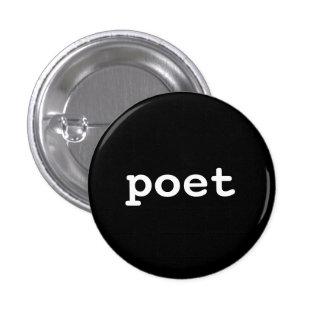 poet 1 inch round button