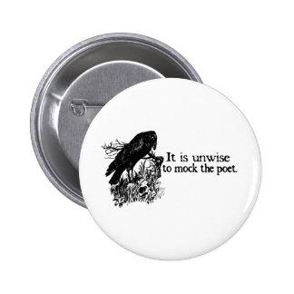 Poet 2 Inch Round Button