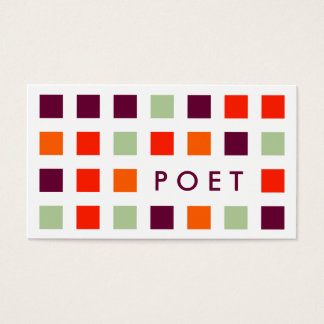 POET (mod squares) Business Card