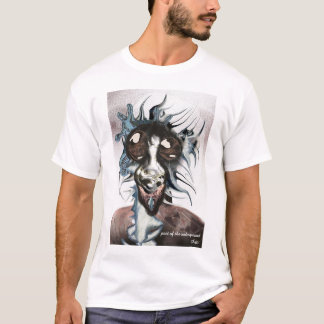 Poet of the underground by Anjo Lafin T-Shirt
