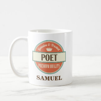 Poet Personalized Mug Gift