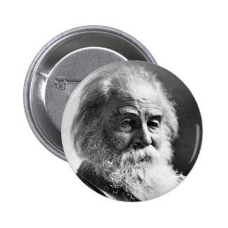Poet Walt Whitman Age 59 Pinback Button