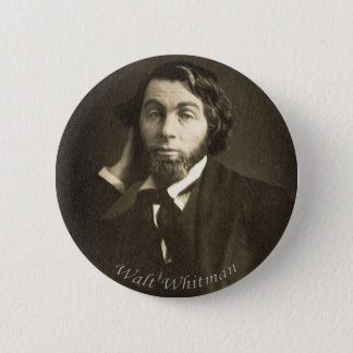 Poet Walt Whitman in New Orleans 2 Inch Round Button