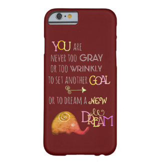 Poetic Creative Inspirational 50pls Elephant Barely There iPhone 6 Case