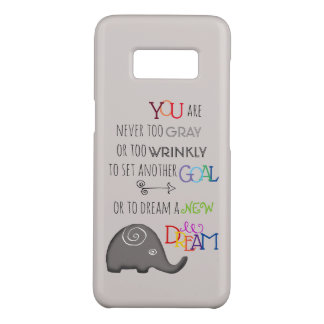 Poetic Creative Inspirational 50plus Elephant Case-Mate Samsung Galaxy S8 Case