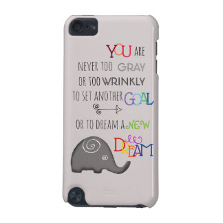 Poetic Creative Inspirational 50plus Elephant iPod Touch 5G Case