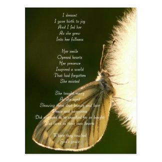 Poetic Expressions- Joy's Birth Postcard